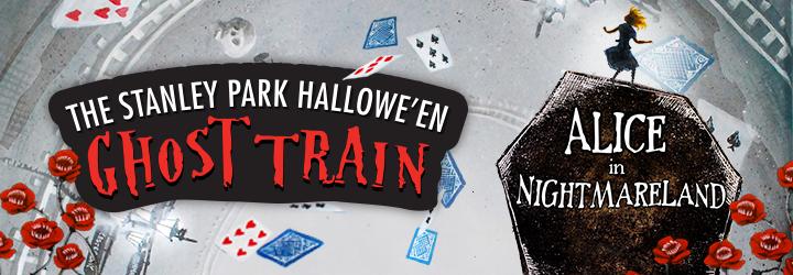 The Stanley Park Hallowe'en Ghost Train