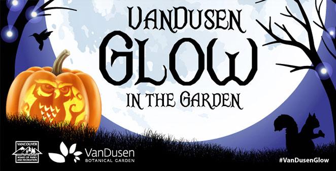 VanDusen Glow in the Garden Family-friendly event