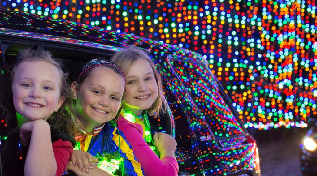 Kids in Magic of Lights
