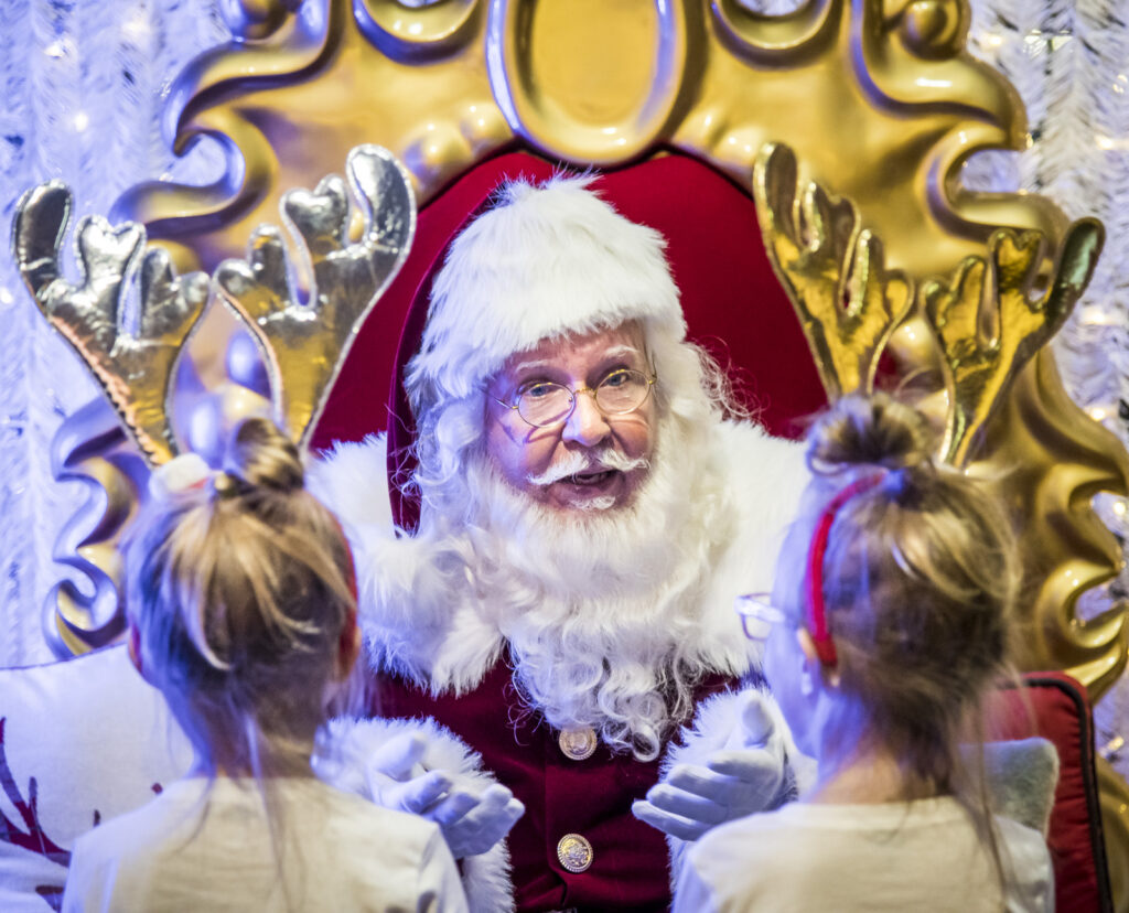 Santa at GLOW Halifax