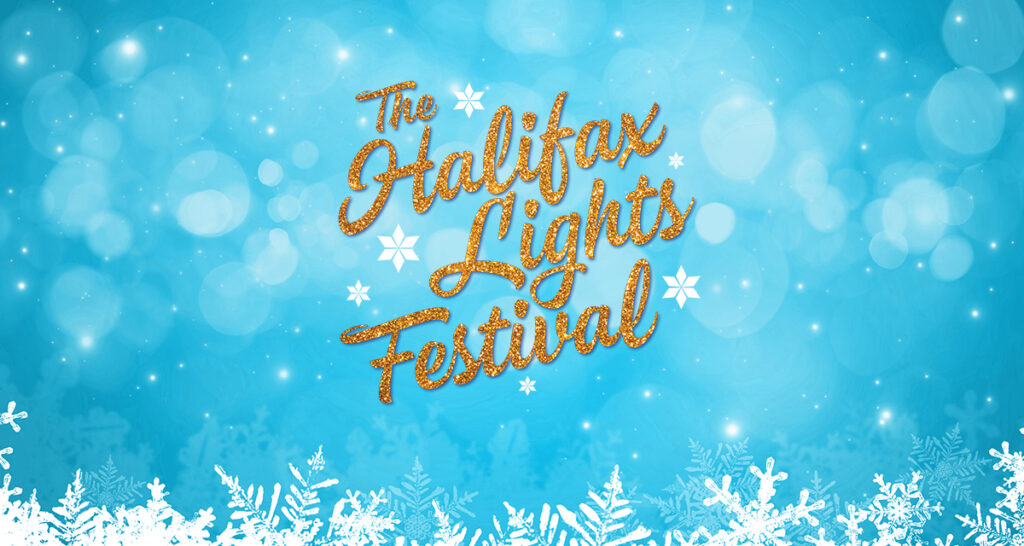 Halifax Lights Festival Banner