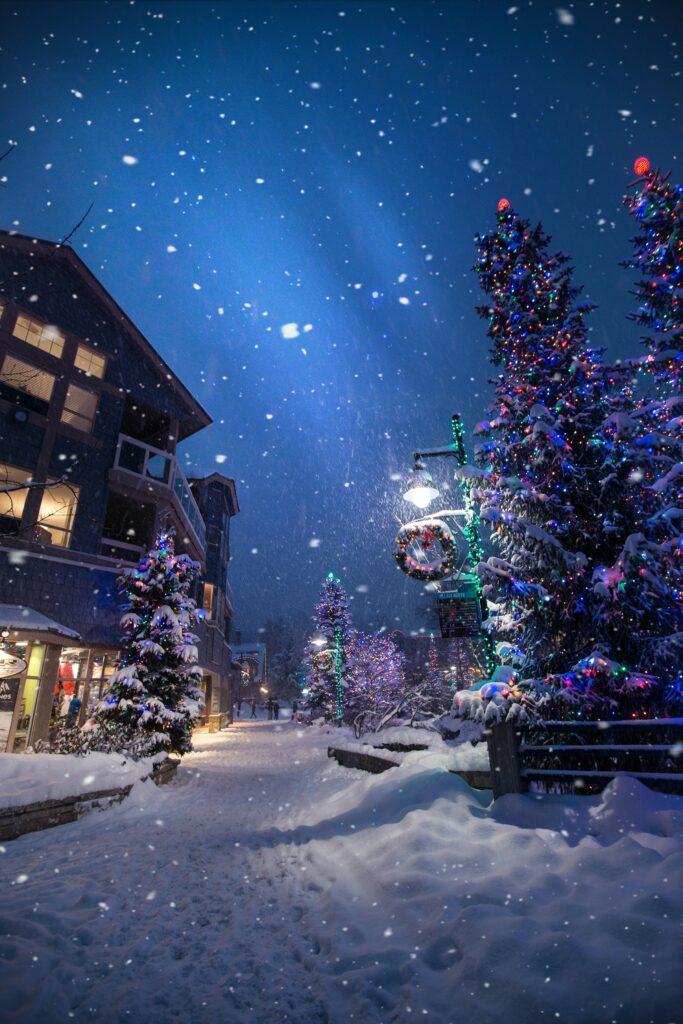 Christmas event in Niagara