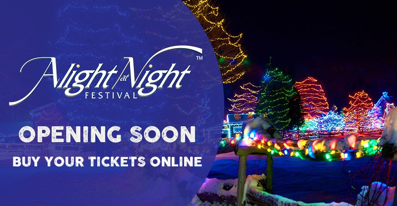Eastern Ontario's Biggest Outdoor Light Festival