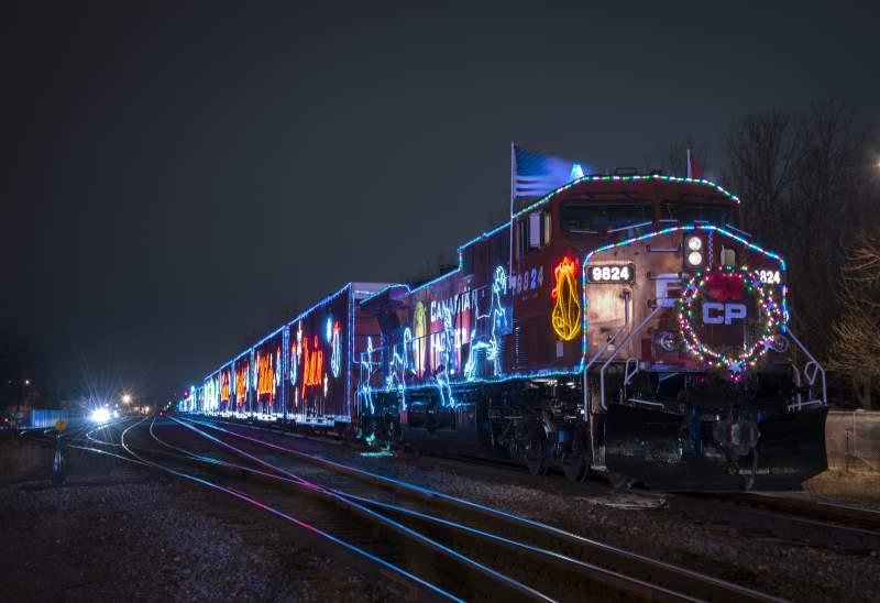 Christmas Holiday Train