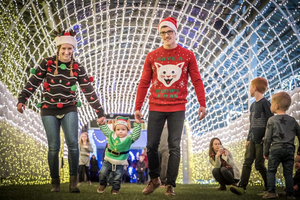 Family-fun at GLOW Saskatoon