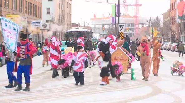 Holiday revellers celebrating Saskatoon's annual Santa Claus Parade. Source: https://beta.ctvnews.ca/content/dam/ctvnews/images/2018/11/1_4182461.jpg?cache_timestamp=1542586992395