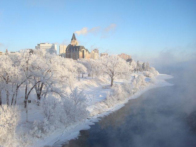 Saskatoon beautiful winter