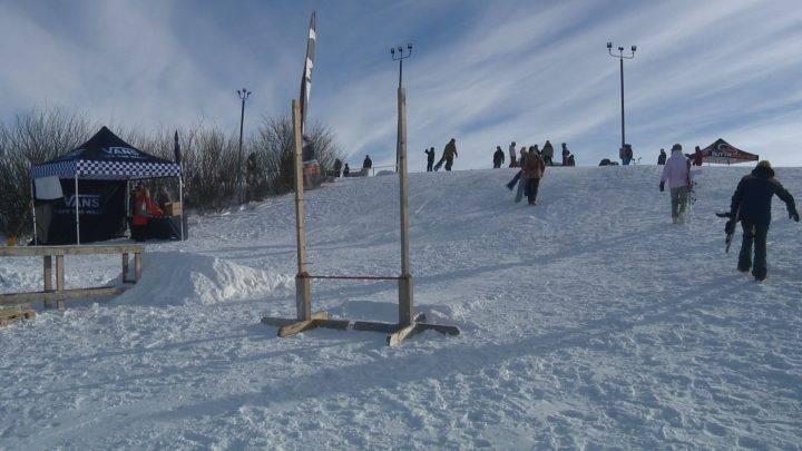 Snowboarding Saskatoon