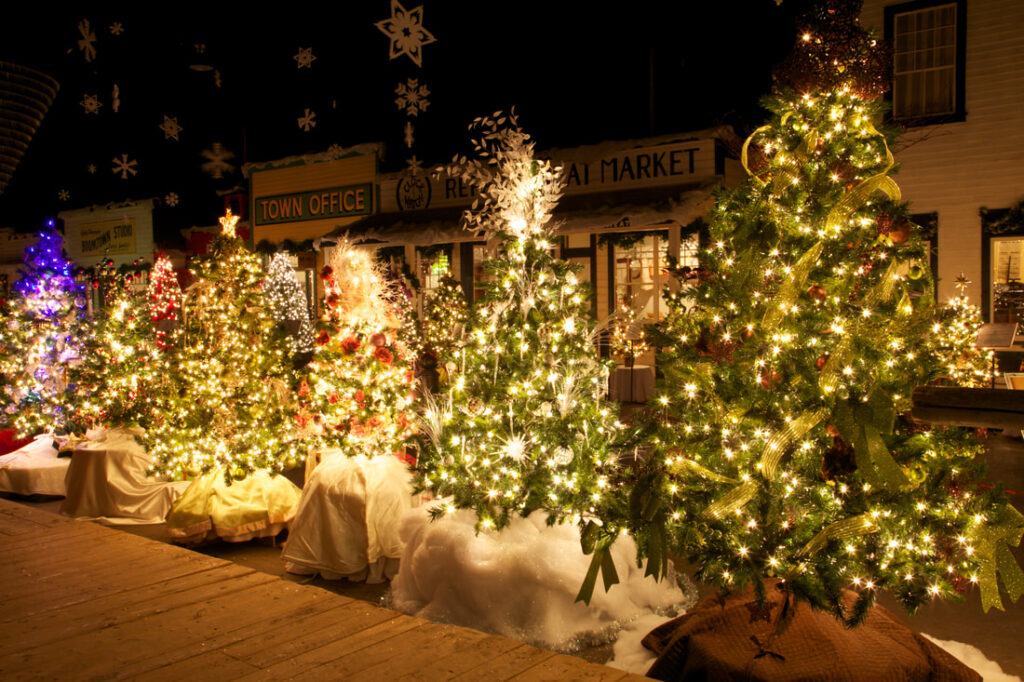 A magical romp of attractions and displays to kick-off the holiday season.