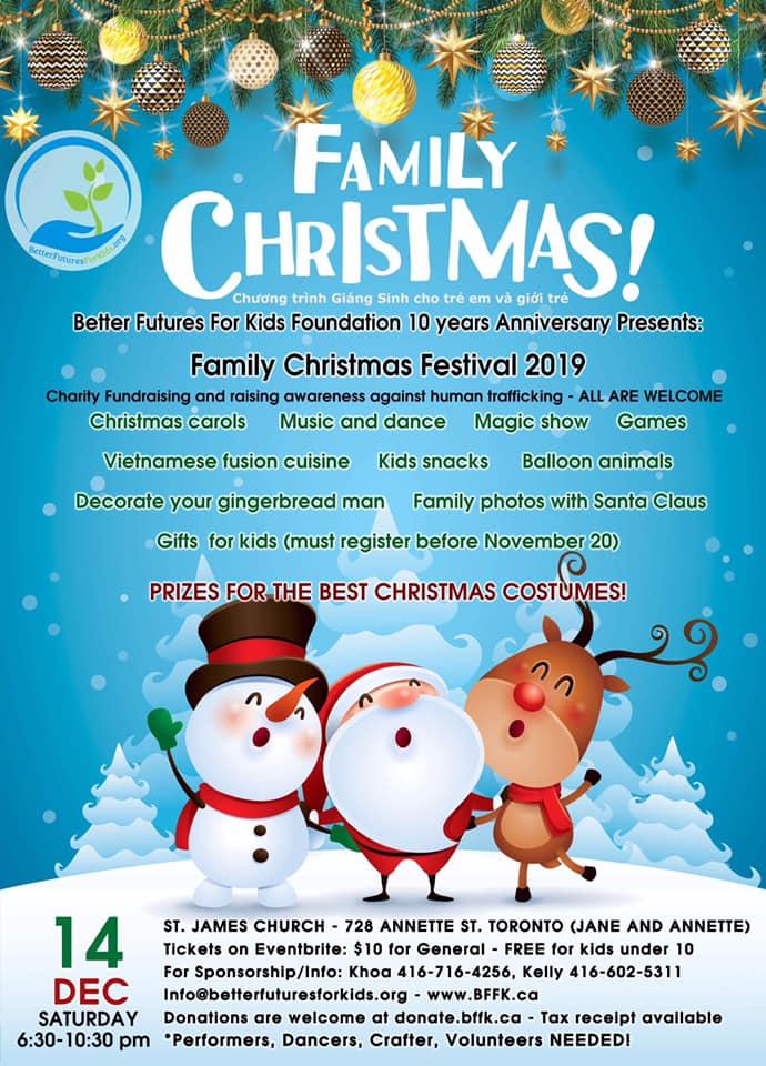 Family Christmas Festival Toronto