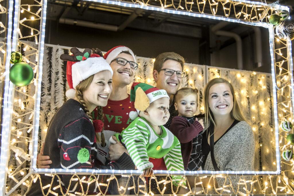 Glow Family Christmas