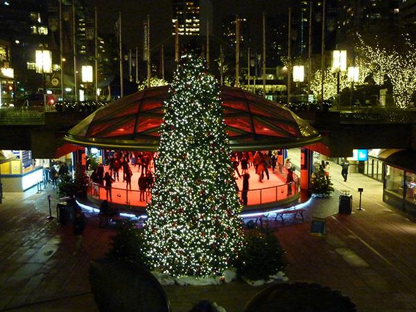 Robson Square Christmas Tree