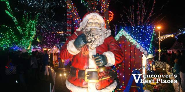 Santa Figure Vancouver