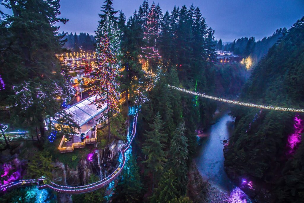 CANYON LIGHTS: CAPILANO BRIDGE