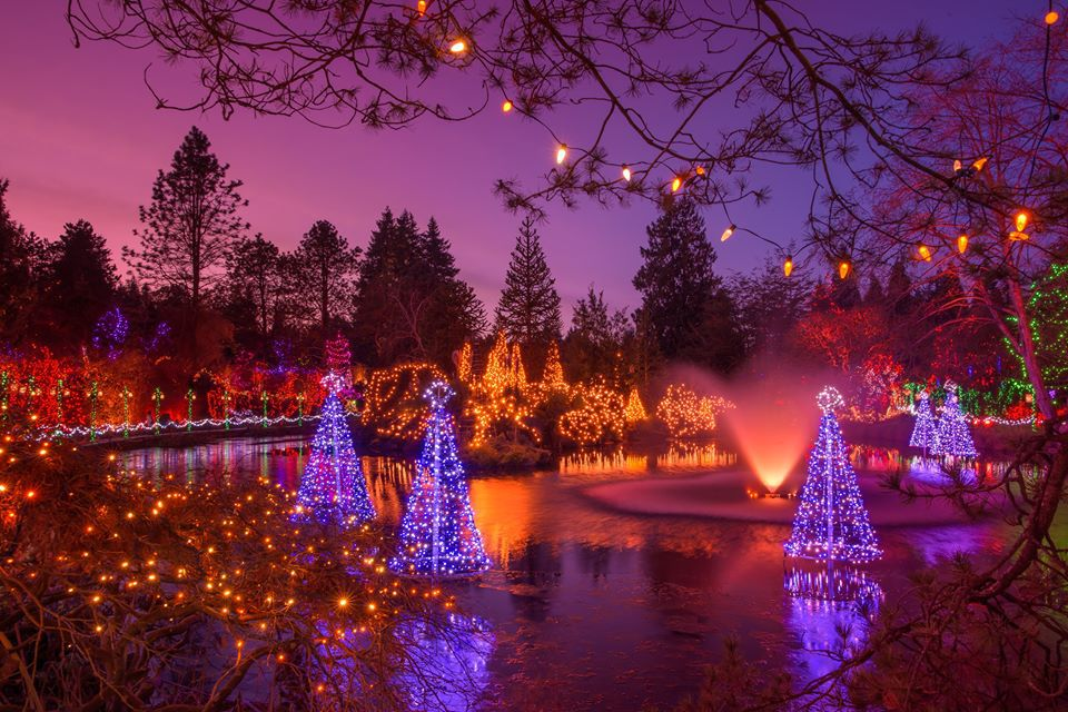 FESTIVAL OF LIGHTS: VANDUSEN BOTANICAL GARDEN